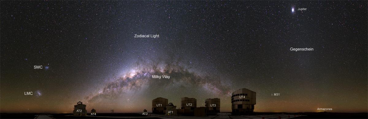 paranal observatorium chile